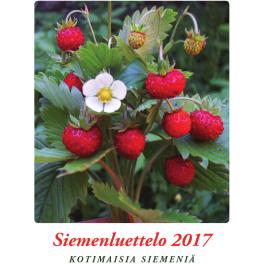 Siemenluettelo 2017